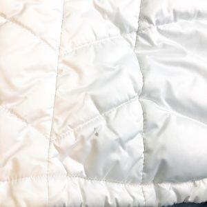 The North Face Jackets & Coats - The North Face Size Large White Down Puffer Vest